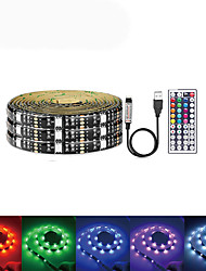 cheap -LOENDE 5m Light Sets 150 LEDs SMD5050 RGB USB / Party / Self-adhesive 5 V / USB Powered 1 set