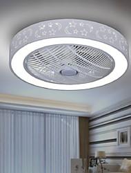cheap -1-Light 58 cm Tri-color Ceiling Fan Painted Finishes Chic & Modern 110-120V / 220-240V / FCC