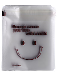 cheap -200 Pcs Cute Smiling Face Packing Bag Food Package Self-adhesive Cookies Biscuit Snack Pastry Bags