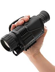 Недорогие -5 X 40 mm Монокуляр ночного видения Портативные Ночное видение Держать в руке Многослойное покрытие BAK4 Отдых и Туризм Охота Рыбалка Ночное видение