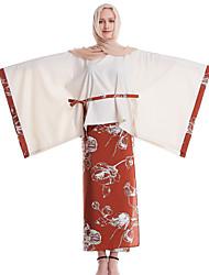 abordables -Femme Polo - Couleur Pleine / Fleur Jupe