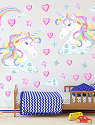 cheap -Cartoon Wall Stickers Kids Room & kindergarten, Removable PVC Home Decoration Wall Decal