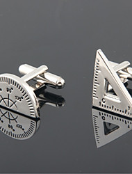 cheap -Cufflinks Casual Vintage Alloy Brooch Jewelry Silver For Party Gift