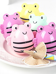 cheap -2pcs Cartoon Bee Shaped Pencil Sharpeners School Gift Prize for Children Kids
