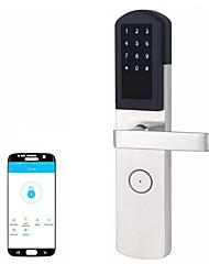 cheap -Mobile APP control intelligent Bluetooth anti-theft door lock remote authorization unlock apartment smart lock