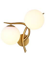 Недорогие -постмодерн настенный светильник стеклянный шар зеркало фары гостиная коридор проход