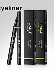 cheap -Waterproof Quick-Drying Eyeliner Black Eyeliner Makeup Tool Built-In Steel Ball