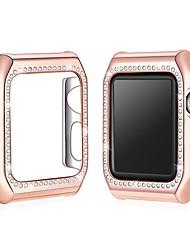 Недорогие -Корпуса для яблочных часов серии 1 / яблочные часы серии 2 / яблочные часы серии 3 пластик / жемчуг совместимость яблоко