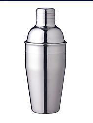 cheap -550ML Stylish Stainless Steel Cocktail Shaker Wine Set Muddler Bar Home Kitchen Supplies