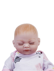 cheap -12 inch Reborn Doll Baby Girl Kids / Teen with Clothes and Accessories for Girls' Birthday and Festival Gifts / Full Body Silicone / Full Body Silicone
