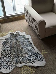 cheap -Doormats / Area Rugs Modern Artificialwool / Faux Suede, Flat Shape Superior Quality Rug