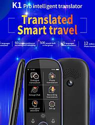 Недорогие -K1 Pro переводчик 2,4-дюймовый Wi-Fi 500mp перевод фотографий многоязычный портативный интеллектуальный голосовой переводчик