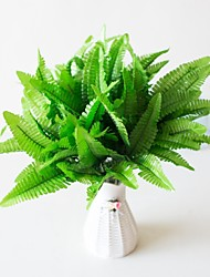 cheap -1Pc Simulation Plant 7 Head Persian Grass Simulation Persian Grass Engineering Flower Fern Artificial Flower Plant Persian Bedroom Study Living Room Decoration