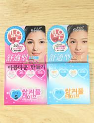 abordables -Paupière Facile à transporter / Respirable / Ultra léger (UL) Maquillage 1 pcs Caoutchouc Œil / Quotidien Maquillage Quotidien Naturel Respirabilité Décontracté / Quotidien Cosmétique Accessoires de