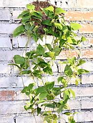 abordables -Fleurs artificielles 1 Une succursale Classique style pastoral Plantes Corbeille Fleur