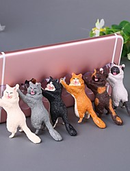 cheap -Cute Cartoon Cat Phone Holder Car Mount Sucker Bracket Universal for Sumsung Huawei LG iPhone X XS 8 7 6