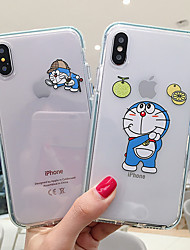 cheap -Case For Apple iPhone 11 / iPhone 11 Pro / iPhone 11 Pro Max Shockproof / Transparent / Pattern Pouch Bag Cartoon Soft Plastics