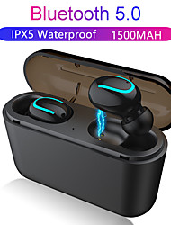 cheap -Z-YeuY Q32 Tws True Wireless Earbuds Bluetooth 5.0 Binaural Sport Earbud With Charging Box  For Iphone Android Phone