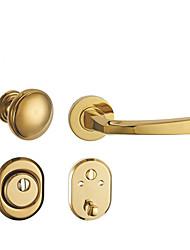 Недорогие -Сплав цинка Титан Золото Защитная дверь Сплит Ручка Плоская дверь Алюминиевая дверь