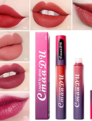 cheap -1 pcs 10 Colors Daily Makeup Matte / Form Fit / Fashionable Design Matte Waterproof / Long Lasting / Durable Glamorous & Dramatic / Fashion Makeup Cosmetic Party / Evening / Date / Casual / Daily