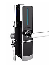 Недорогие -911 сплав цинка Интеллектуальный замок Умная домашняя безопасность система RFID Гостиница Дверь безопасности / Деревянная дверь (Режим разблокировки Сумки для карточек)