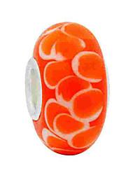 cheap -Creative Beads DIY Jewelry - Jewelry Orange Bracelet Necklace