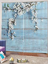 Недорогие -Горячая распродажа сильная прочность плотная плотная ткань для штор водонепроницаемая литьевая штора для ванной комнаты тепло / звукоизоляция для гостиной / гостиной