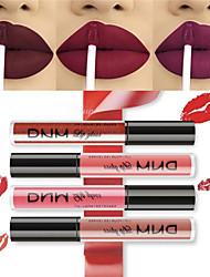 abordables -rouge à lèvres liquide brillant à lèvres velours mat métallique rouge à lèvres cosmétiques