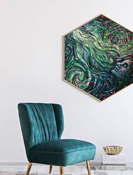 cheap -Framed Art Print Framed Canvas Prints - Abstract PS Illustration Wall Art