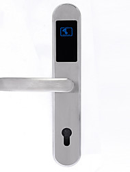 cheap -Aluminium alloy Intelligent Lock / Card Lock Smart Home Security System Indoor lock function Home / Home / Office / Hotel Wooden Door (Unlocking Mode Card) Install Adjustable Door Lock Direction