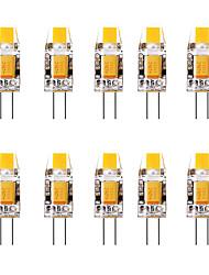 cheap -10pcs 1.5 W LED Bi-pin Lights 3000 lm G4 1 LED Beads Warm White White 12 V