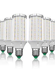 abordables -LOENDE 6pcs 25 W Ampoules Maïs LED 2500 lm E26 / E27 T 90 Perles LED SMD 5730 Blanc Chaud Blanc 85-265 V
