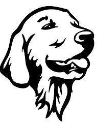 cheap -Cool Golden Retriever Dog Cute Pet Dog Decals Car Styling Sticker