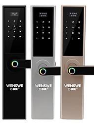 cheap -Face recognition password lock Factory direct security door smart lock Custom automatic fingerprint lock