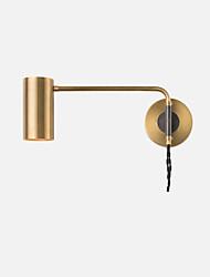 abordables -bras de balançoire en métal de mode lumières de lecture liseuse luminaire moderne contemporain plafonnier encastré / magasins / cafés / chambre lumière murale en métal
