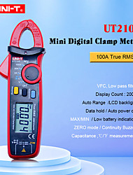 cheap -UNI-T UT210E Digital Clamp Meter True RMS Auto Range UT210D 2000 Count LCD Display Multimeters Megohmmeter