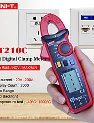 Недорогие -измерительный прибор uni-t ut210c цифровой истинный среднеквадратичный автоматический диапазон напряжения переменное постоянное напряжение ток температура емкостное сопротивление тестер мультиметр