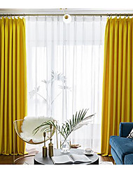 cheap -Blackout Two Panels Curtain Living Room   Curtains
