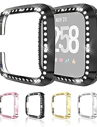 cheap -Cases For Fitbit Versa / Fitbit Versa Lite Ultra-Slim Luxury Crystal Screen Protector Cover Protector For Fitbit Versa Lite