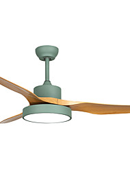 cheap -QINGMING® Circle / Mini Ceiling Fan Ambient Light Painted Finishes Metal Mini Style, Tri-color 110-120V / 220-240V Warm White+White