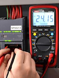 cheap -UNI-T UT139C True RMS Digital Multimeter Auto Range Tester 6000 Counts Voltmeter Resistance Tester Temperature Test Transistor