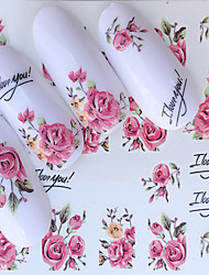cheap -1 pcs Full Nail Stickers Romantic Series nail art Manicure Pedicure Mini Style / Safety / Slim design Stylish / Simple Daily / Festival
