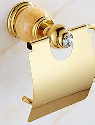Недорогие -Держатель для туалетной бумаги Креатив / Многофункциональный Современный Латунь 1шт На стену