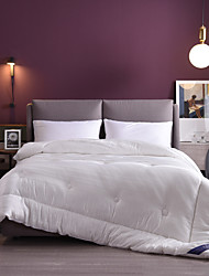 cheap -Thick Warm Tencel Jacquard Spring and Autumn Quilt Single Double Quilt Core  Bedding Set