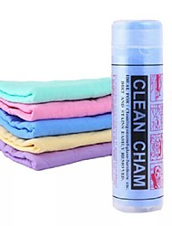 cheap -Magic Synthetic Deerskin PVA Chamois Car Cleaning Cham Washing Cloths Towel Super Absorption