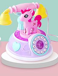 Недорогие -Игрушка для обучения чтению Игрушечные телефоны Сбрасывает СДВГ, СДВГ, Беспокойство, Аутизм Взаимодействие родителей и детей Креатив С мультяшными героями Пластиковый корпус ABS смолы