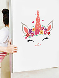 cheap -Cute Cartoon Wall Stickers - Animal Wall Stickers Animals / Landscape Study Room / Office / Dining Room / Kitchen-G
