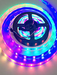 cheap -LED Light Strip Waterproof RGB Tiktok Lights 32.8 Ft SMD 3528 600Leds Color Changing Lights Rope Kits with 24 Key Ir Controller Power Supply for Home Kitchen Indoor Christmas Decoration
