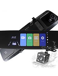 abordables -ziqiao h16a vision nocturne complète hd inversion d'image voiture dvr caméra 170 degrés grand angle dash caméra g-capteur parking moniteur voiture enregistreur vidéo