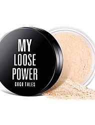 abordables -poudre de maquillage, poudre libre, poudre de perle, contrôle de l'huile, imperméable et durable